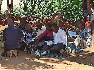 Burunge pastors and Bible dictionaries, cropped (2).jpg